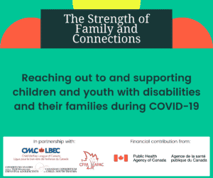 Poster for The Strength of Family and Connections from CWLC and Public Health